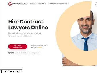 contractscounsel.com