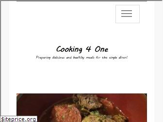 cooking-4-one.com