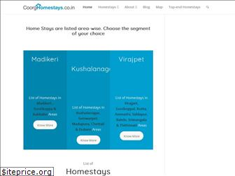 coorghomestays.co.in