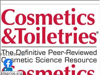 cosmeticsandtoiletries.com
