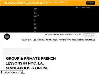 coucoufrenchclasses.com