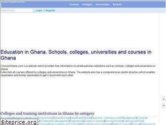 coursesghana.com
