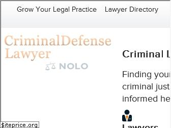 criminaldefenselawyer.com