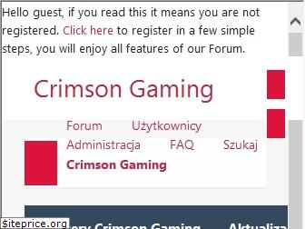 www.crimsongaming.com.pl website price