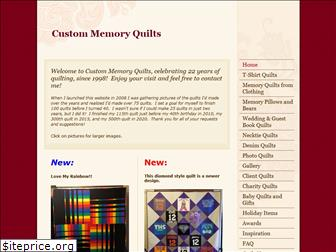 custommemoryquilts.com