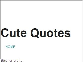 www.cutequotes.in website price