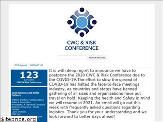 cwcriskconference.org