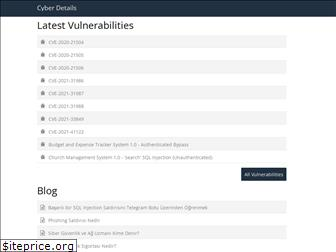 cyberdetails.org