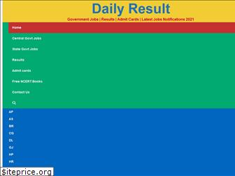 dailyresult.in