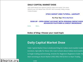 dailystockmarketdose.blogspot.com