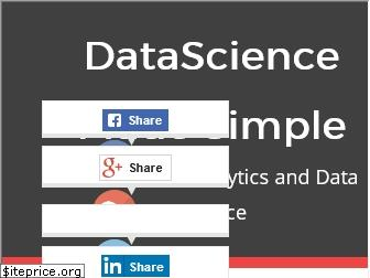 datasciencemadesimple.com