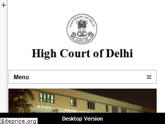 delhihighcourt.nic.in