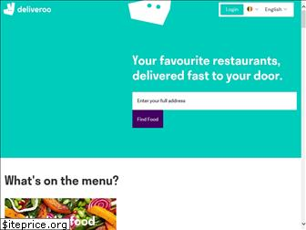 deliveroo.be