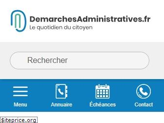 demarchesadministratives.fr