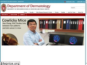 www.dermatology.wisc.edu website price