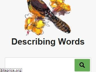 describingwords.io