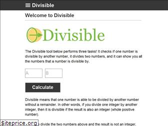 divisible.info