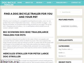 dog-bicycle-trailer.com