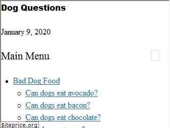 dogquestions.org