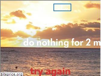 donothingfor2minutes.com