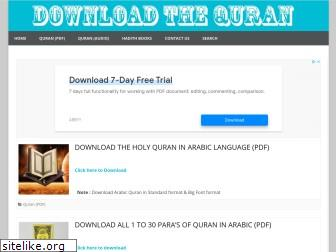 downloadthequran.com