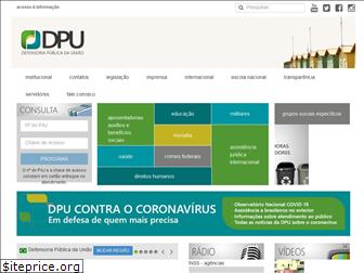 www.dpu.def.br website price