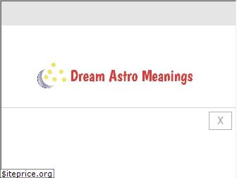 dreamastromeanings.com