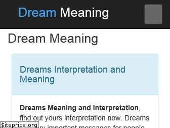 dreammeaning.org