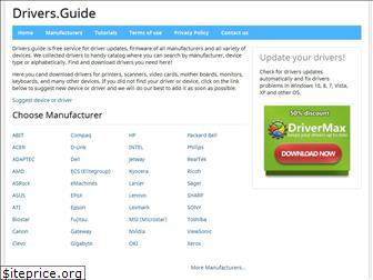 drivers.guide