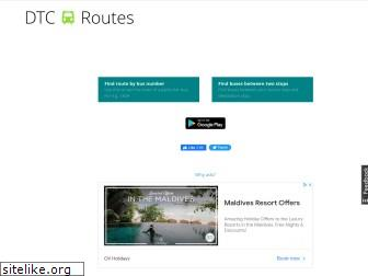 dtcbusroutes.in