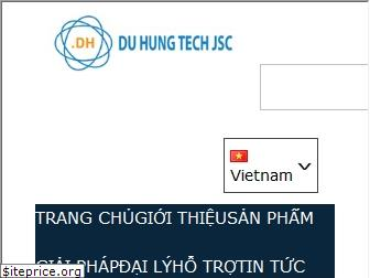 www.duhung.vn website price