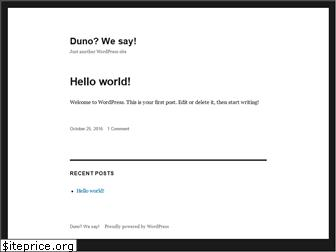 duno.org