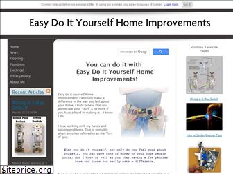 easy-do-it-yourself-home-improvements.com
