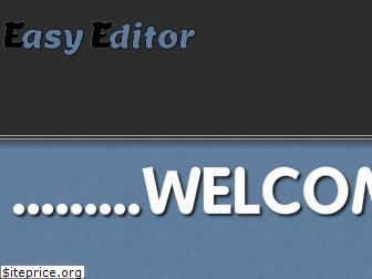 www.easy-editor.org website price