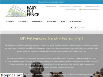 easypetfence.com