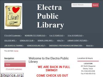 electrapubliclibrary.org