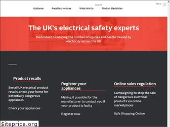 electricalsafetyfirst.org.uk