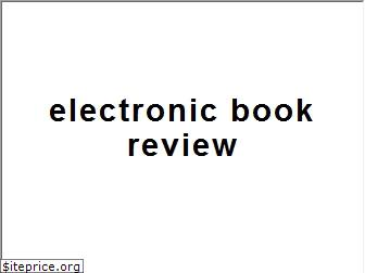 electronicbookreview.com