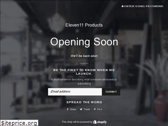 eleven11products.com