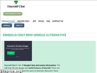 Omegle emerald chat