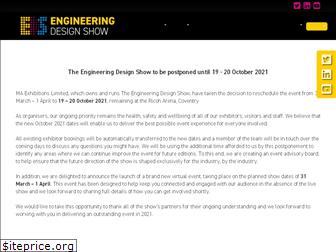 www.engineeringdesignshows.co.uk website price