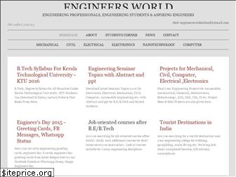 www.engineersworld.net website price