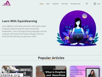 equicklearning.com