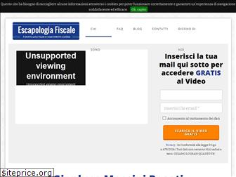 www.escapologia-fiscale.it website price