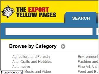 exportyellowpages.com