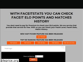 www.faceitstats.co website price