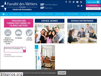 www.facmetiers91.fr website price