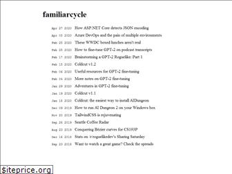 familiarcycle.net