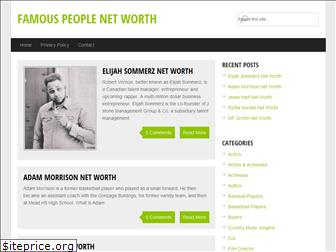famousnetworth.org