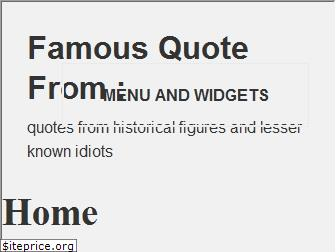famousquotefrom.com